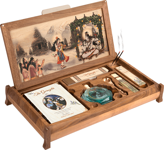 The Guru-Gita - Wooden Altar Kit