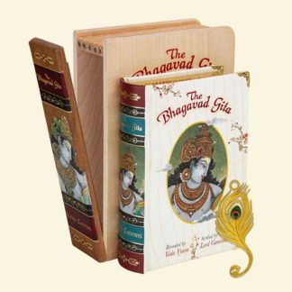 The Bhagavad Gita - Softcover Edition A7 size Book (English)
