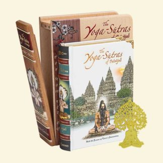 The Yoga-Sutras of Patanjali - Wooden Edition A6 Size Book
