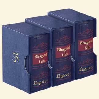 Mini Bhagavad Gita English–  A9 Size (Pack of 3)